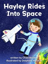 Hayley Rides into Space
