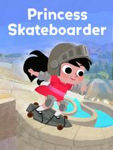 Princess Skateboarder