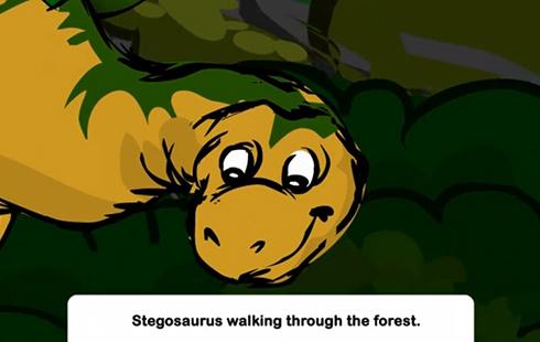 Dinostory: Stegosaurus