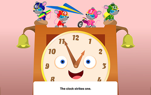 Hickory Dickory Dock Interactive Story | Speakaboos