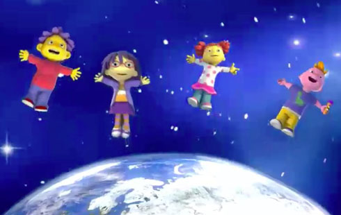 Sid the Science Kid: Gravity & Weightlessness
