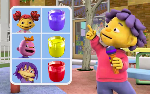 Sid the Science Kid: Primary Colors