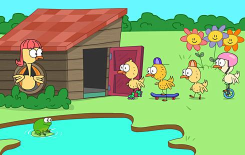 little duck story