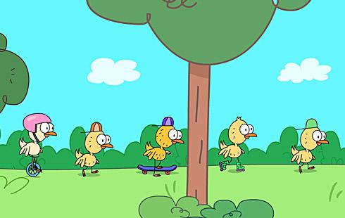 Sweet Tweets: Five Little Ducks