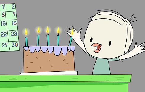 Sweet Tweets: Happy Birthday Song