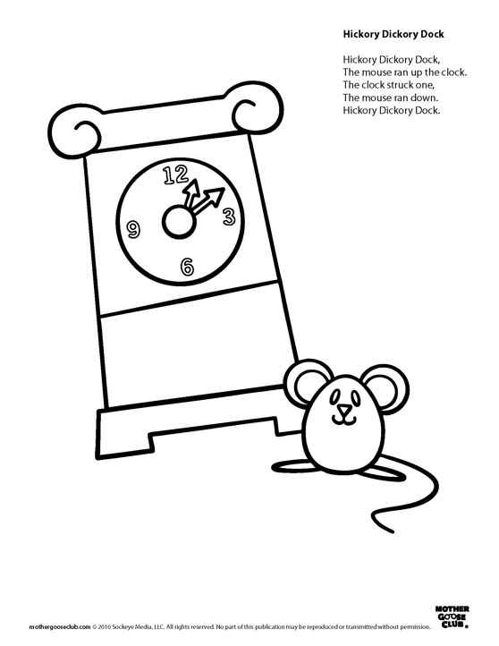 Nursery Rhymes Worksheets and Printables  Educationcom