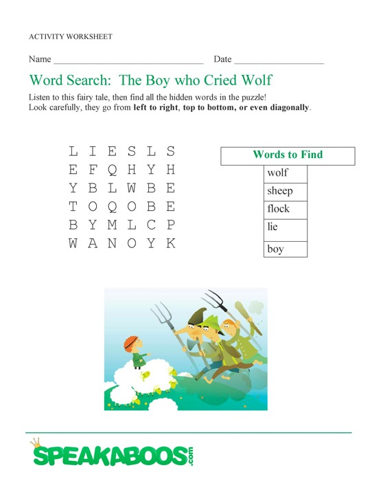 Free Word Search Worksheets | Search Results | Calendar 2015
